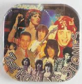 The Rolling Stones - 'Group' Square Button Badge